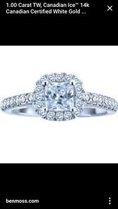 1ct. Canadian Ice Engagement Ring