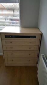 Schreiber large 5 drawer chest