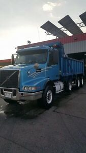 2002 Volvo Tri Axle Dump Truck Certified And e tested