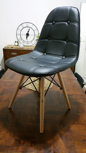 6x PU Leather Replica Eames Dining Chairs - BRAND NEW IN BOX Merrylands Parramatta Area Preview