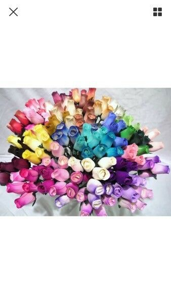 Wooden roses £1 each