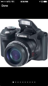 Canon PowerShot SX500 IS Digital Camera & Selphy CP800 printer