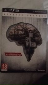 The Evil Within PS3 Limited Edition & Alien Isolation Ripely Edition