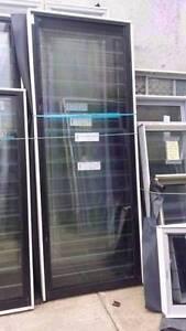 Louvre - 2400h x 910w Black Louvre Window w/ Clear Glass Loganholme Logan Area Preview
