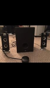 Cyber Acoustics Speakers and Subwoofer