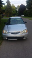 Honda Civic Cx Hatchback 600$ négociable
