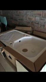White ceramic sink *brand new*