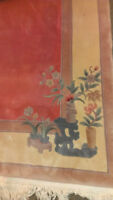 Private Collection Hand Made New 9 x 12 Wool Chinese Carpet Rug