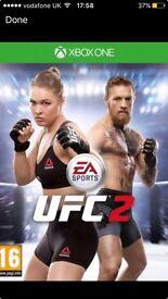 UFC 2 XBOX ONE