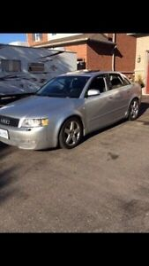 2002 Audi A4  3.0  AWD sell or trade?