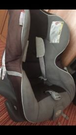 Hardly used Britax car seat from birth