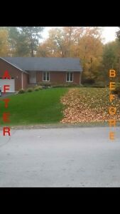 Now taking bookings for fall clean up (Free Quote)  Kawartha Lakes Peterborough Area image 2