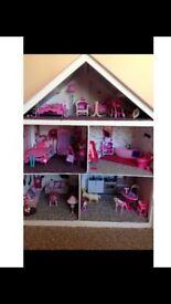 Full size barbie house