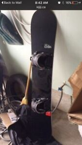 """160"""" flow snow board , flow bindings and flow boots London Ontario image 1"""