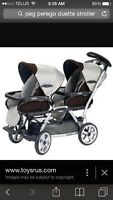 QUICK SELL! Double stroller.