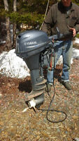 Outboard Motor, very good for empowering sailboat.