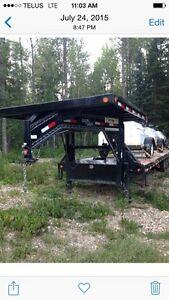40' flat deck trailer