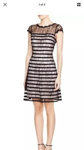 Adrianna Papell new  12p or 10 lace dress prom wedding cocktail