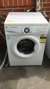 4.5 star 7 kg front LG washing machine