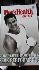 Mens Health Training books