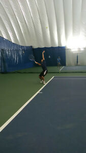Looking for a Tennis hitting partner