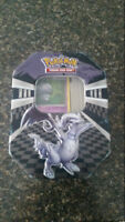 POKEMON CARDS IN TIN & 1 EX INCLUDED