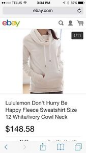 Lululemon Don't Hurry Be Happy Pullover Strathcona County Edmonton Area image 1