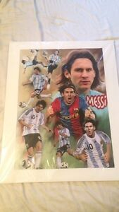 New messi poster  West Island Greater Montréal image 1