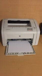 HP LASERJET PRINTER BLACK INK ONLY/IMPRIMANTE West Island Greater Montréal image 1