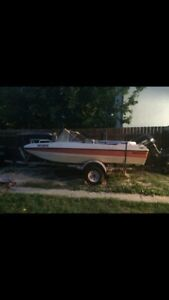 1985 VanGuard Marlin with trailer and 115 evenrude