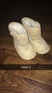 Assorted Infant girls shoes and boots