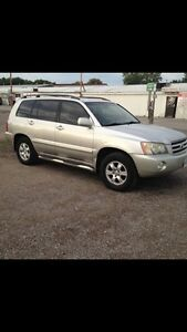 2002 Highlander limited fully loaded