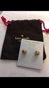 KATE SPADE Know The Ropes Knot Studs / Earrings Kitchener / Waterloo Kitchener Area image 1