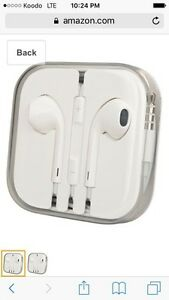 Apple headphones (new!)
