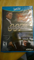 Wii u game Brand new Legends 007 and Ninja Gaiden 3 for trade