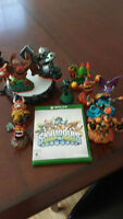 skylander with portal and figurines XBOX ONE