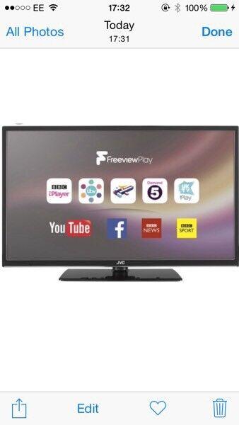 Jvc smart TV ( broken screen )