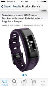 Garmin VIVOSMART HR (Fitness Tracker) Cambridge Kitchener Area image 2