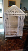 Hagen Large Aviary Cage for Cockatoo, Grey, Macaw...