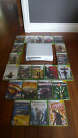 XBOX 360 with 20+ games. Make an offer!