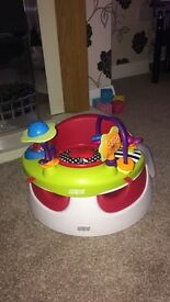 Mamas and papas snug seat and toy tray