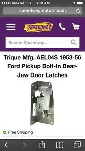 Bear claw latches for 53-56 Ford truck