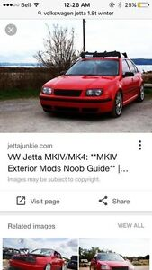WANTED: Volkswagen Jetta or golf 1.8t