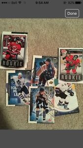 40 Rookie Hockey Cards