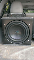 subwoofer 12'' et ampli interfire
