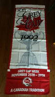 CFL 80th Grey Cup 1992 Banner