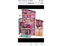 Sparkle mansion Barbie doll house