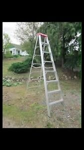 8 ft aluminum ladder