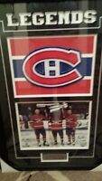 Autographed Montreal Canadian 2'x3' Framed Picture