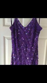 Ladies size 10 sequin dress